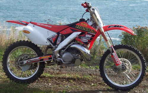 Download Honda Cr250r repair manual