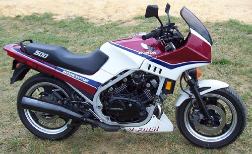 Download Honda Vf500c Vf500f repair manual