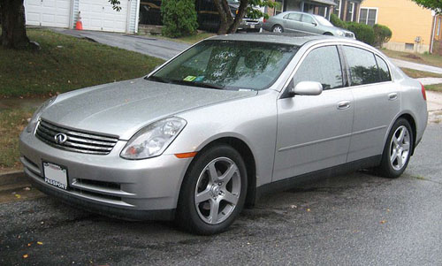 Download Infiniti G35 Sedan repair manual