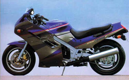 Download Suzuki Gsx-1100f repair manual