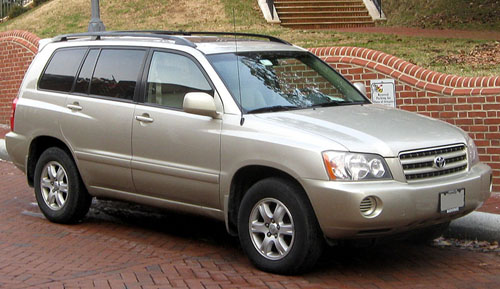 Download Toyota Highlander repair manual