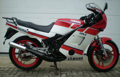 Download Yamaha Rd350 Ypvs repair manual